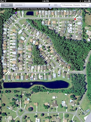 Aerial Map of our development
