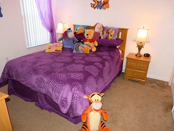 Winnie the Pooh Queen room