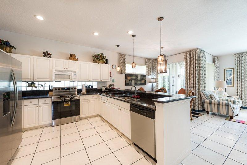 Huge Family Kitchen