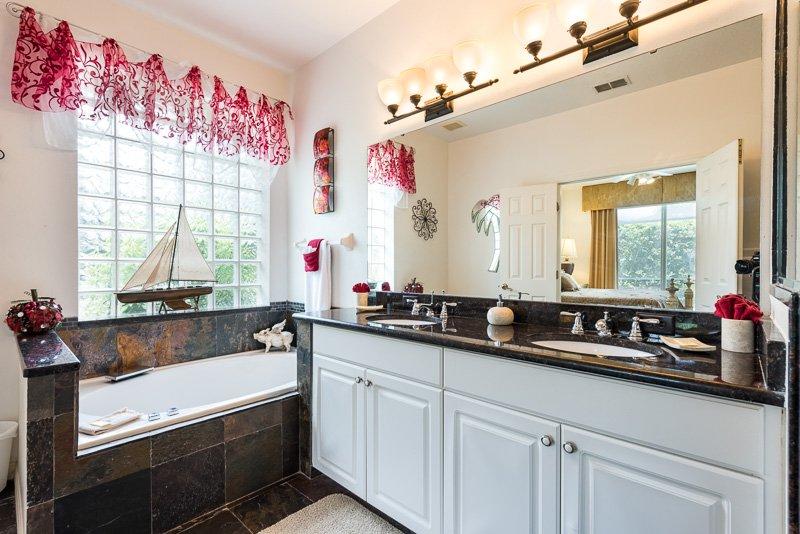 New Modern Master Bathroom