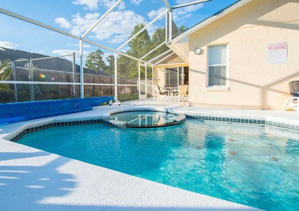 Large pool Decking Area