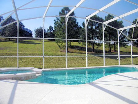 4 Bed Florida Villa sleeps 8. Private Pool & Spa. Wi-Fi. Games Room.