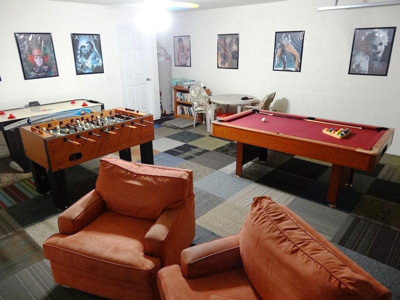 Dedicated games room
