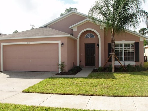 5 Bed Florida Villa sleeps 9. Private Pool & Spa. Wi-Fi. Games Room.